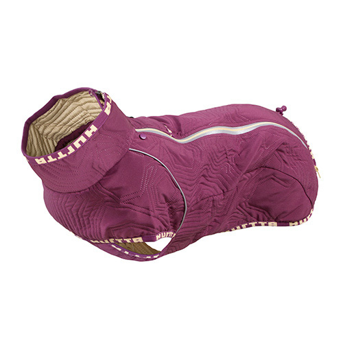 GIACCA QUILTED BULL-F E CARLINI VIOLA